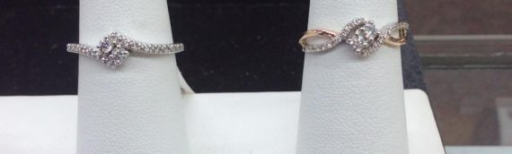 Side by Side Rings